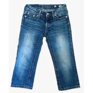 Miss Me Capri jeans size 12 kids